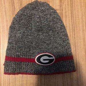 Georgia bulldogs beanie hat